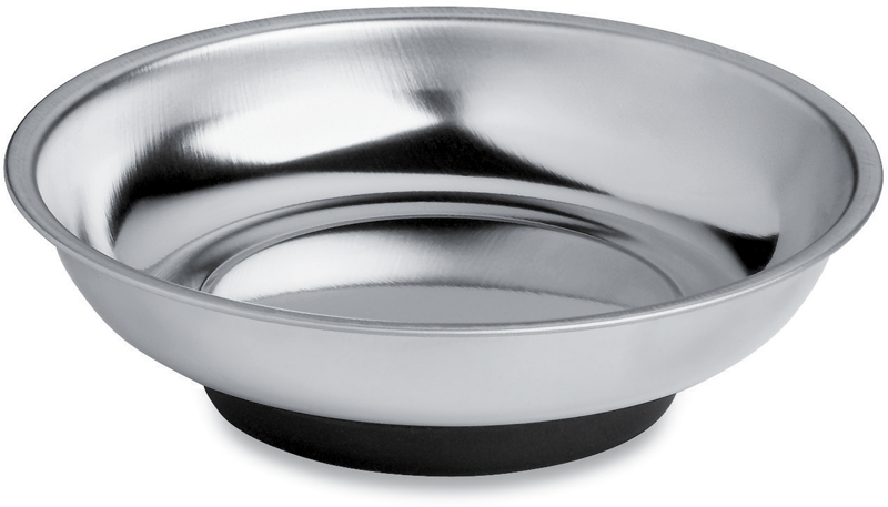 6-in. Magnetic stainless steel round bowl