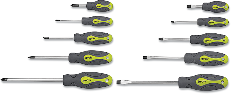 10-pc. screwdriver set