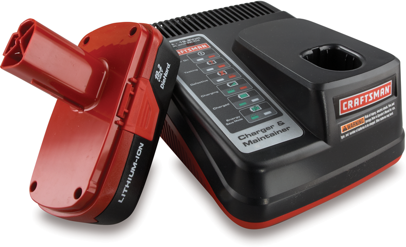 Craftsman C3 19.2-volt lithium-ion battery and charger kit