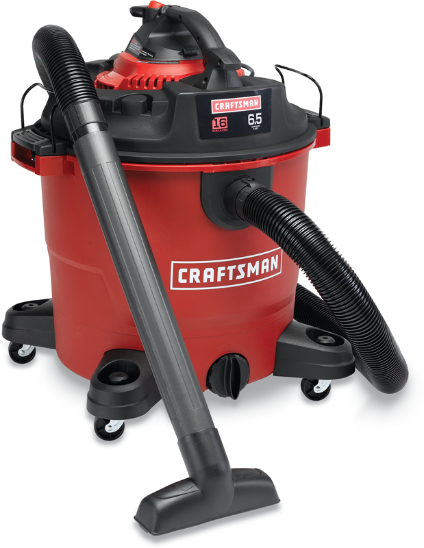 Craftsman 16-gal. 6.5-HP wet/dry vac with detachable blower