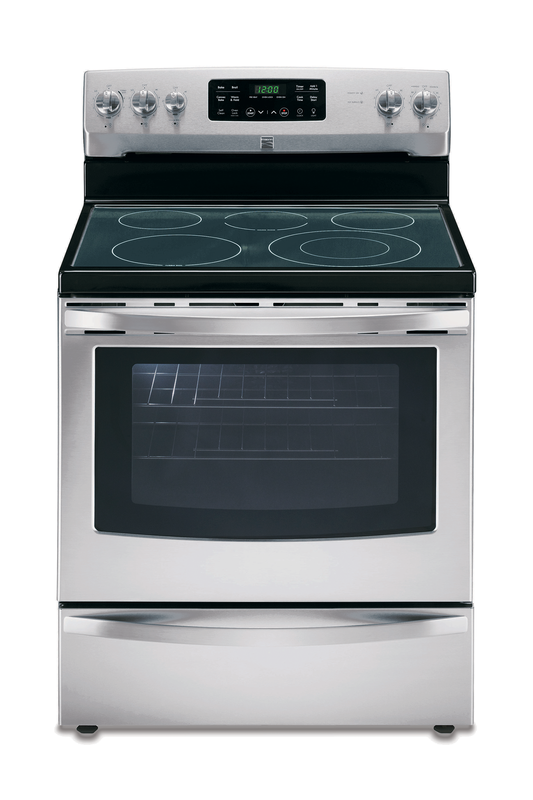 Kenmore 5.4-cu. ft. electric range with TurboBoil™