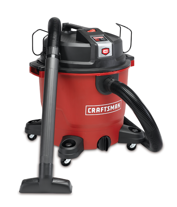 Craftsman&reg XSP™ 16-gallon 6.5 peak HP wet/dry vac