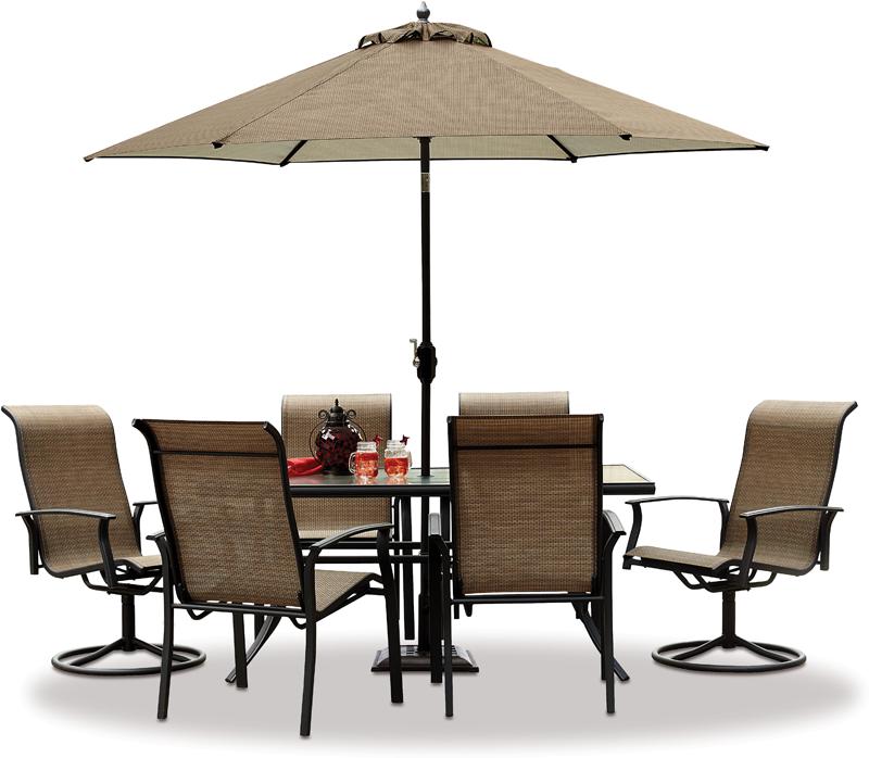 Garden Oasis Harrison 7-pc. dining set