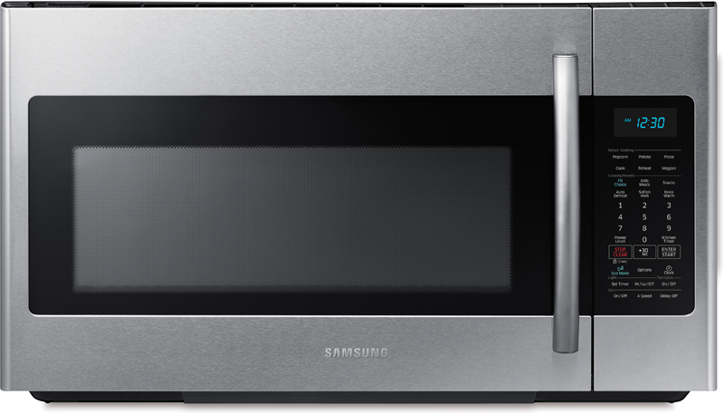 Samsung 1.8 cu. ft. over the range microwave