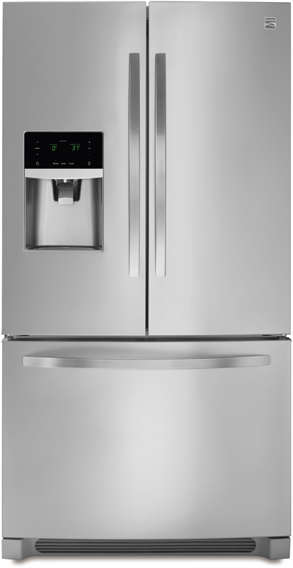 Kenmore 27.2-cu. ft. french door refrigerator and air filter