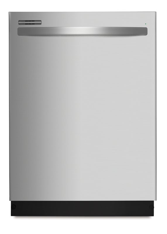 Kenmore Dishwasher with PowerWave™ spray arm and time remaining display