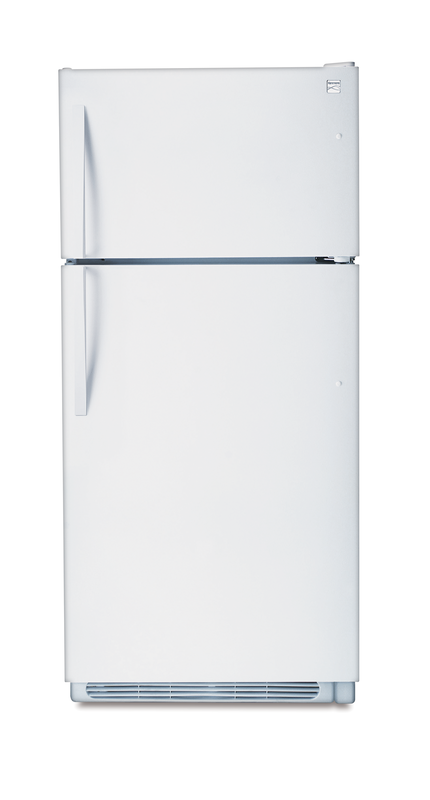 18.0-cu. ft. top freezer refrigerator