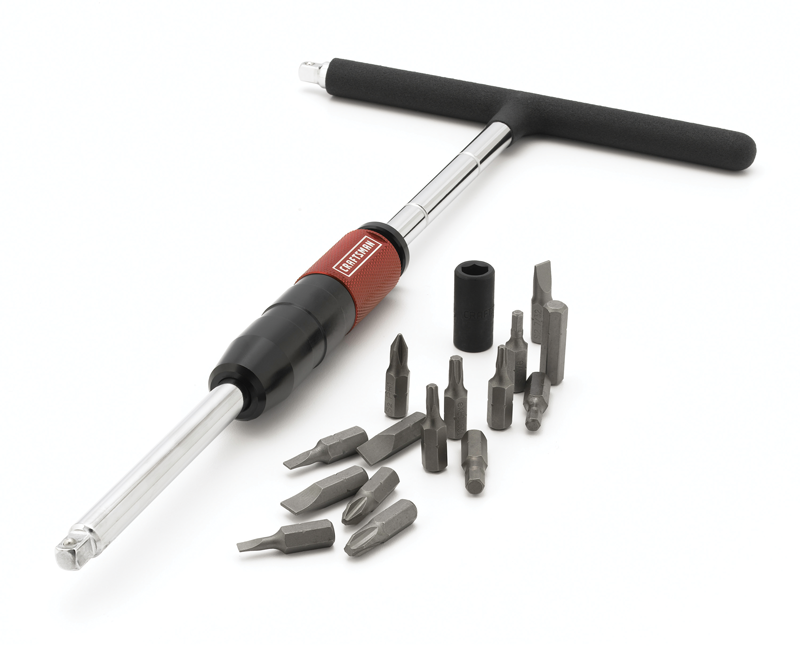 MACH™ series 17 pc. 1/4-In. T-handle driver