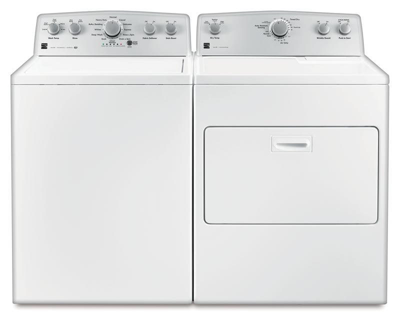 4.3 cu. ft. capacity Washer and 7.0 cu. ft. Dryer