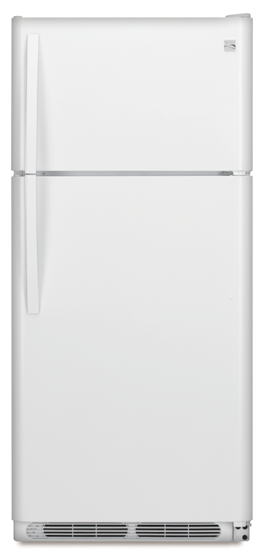 20.4-cu. ft. capacity with slide-out glass shelves and gallon-sized door bins