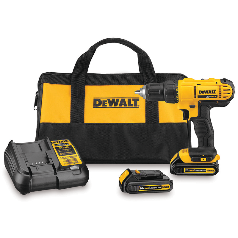 20-volt 1/2-in. cordless drill/driver