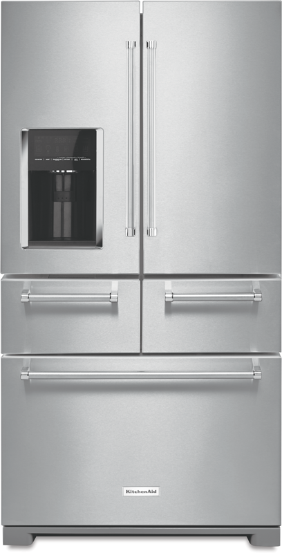 25.8-cu. ft. multi-door refrigerator with SmoothGlide™ crisper drawers