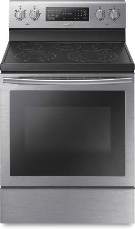 Samsung Electric range with triple element and True Convection