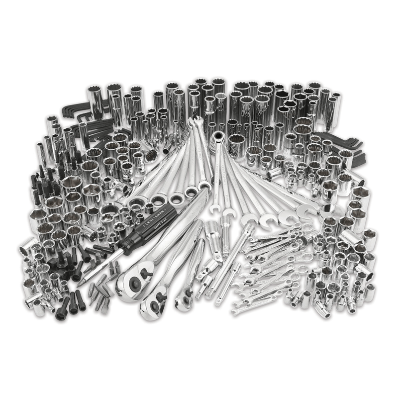 311-pc. mechanic's tool set with three 75 tooth ratchets