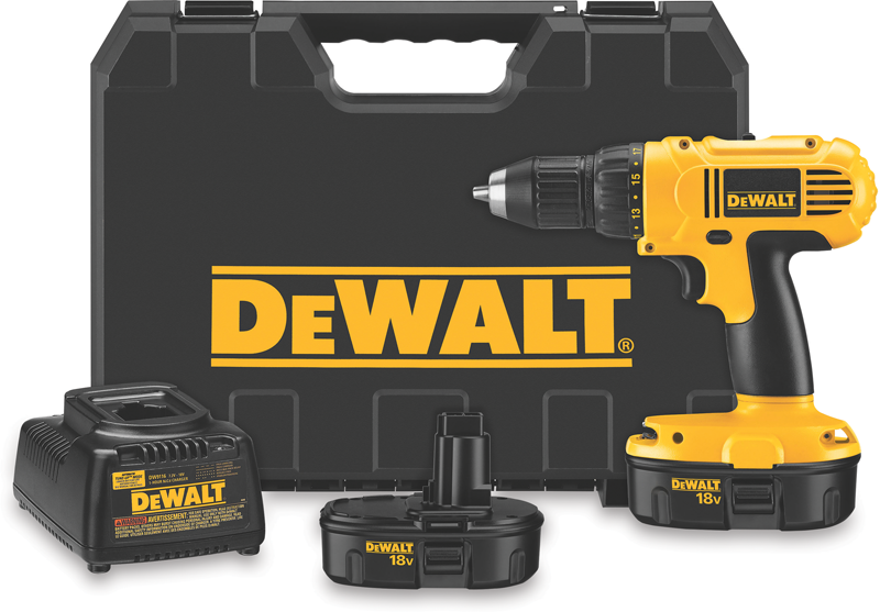 18-volt 1/2-in. cordless compact drill/driver kit