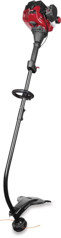 Craftsman&reg 25cc curved shaft 2-cycle gas trimmer with bump head