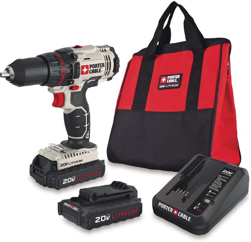 20-volt MAX 1/2-in. lithium-ion drill/driver