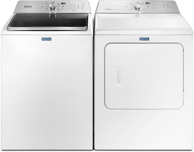 4.7 cu. ft. capacity with Powerwash and Deep Water Wash option and 7.4 cu. ft. capacity with IntelliDry sensor, sanitize cycle and Wrinkle Prevention option