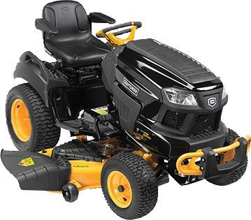 Craftsman Pro 26-hp Kohler 7000 Elite series V-Twin engine 54-in. deck Hydrostatic transmission Smart lawn technology High back seat