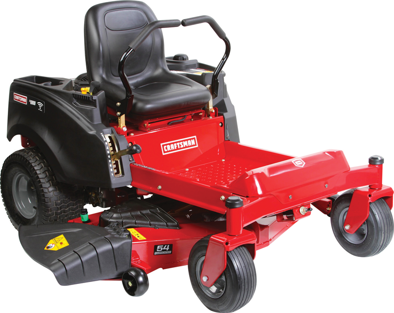 24-hp Kohler 7000 V-Twin engine 54-in. residential fabricated deck Dual hydrogear EZT transmission 15-in. High Back Seat Zero turn riding mower