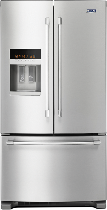 25-cu. ft. French door refrigerator with PowerCold®