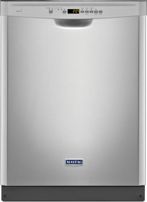 Maytag Dishwasher with stainless steel tub and PowerBlast™ cycle