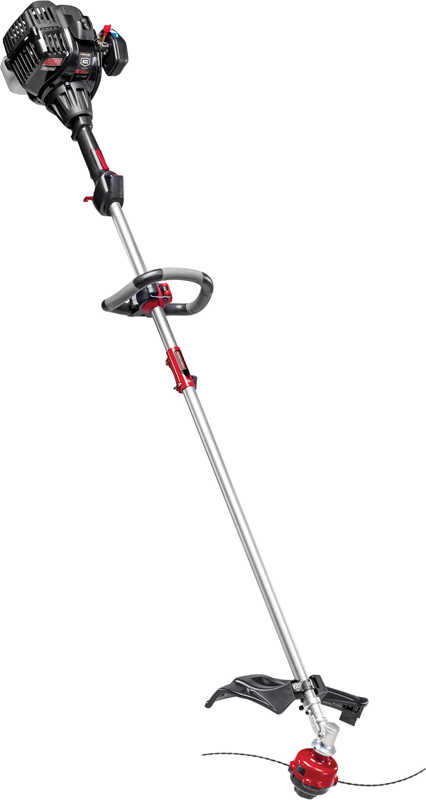 Craftsman 27cc 2-cycle straight shaft gas powered trimmer and quiet technology