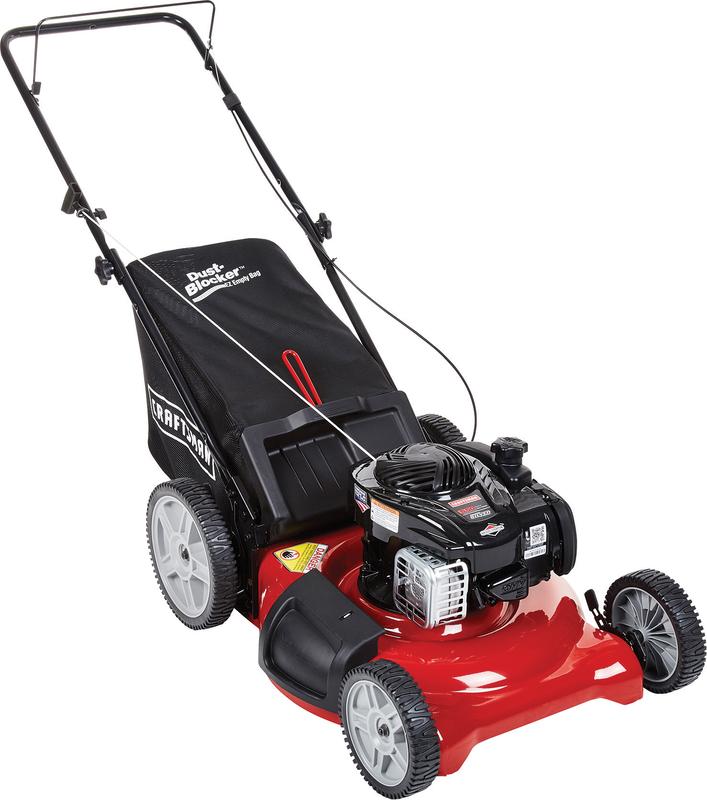 22-in. 140cc push mower high wheel