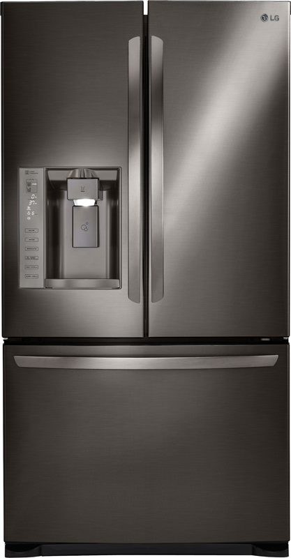 LG 24.1-cu. ft. french door refrigerator with dual icemaker