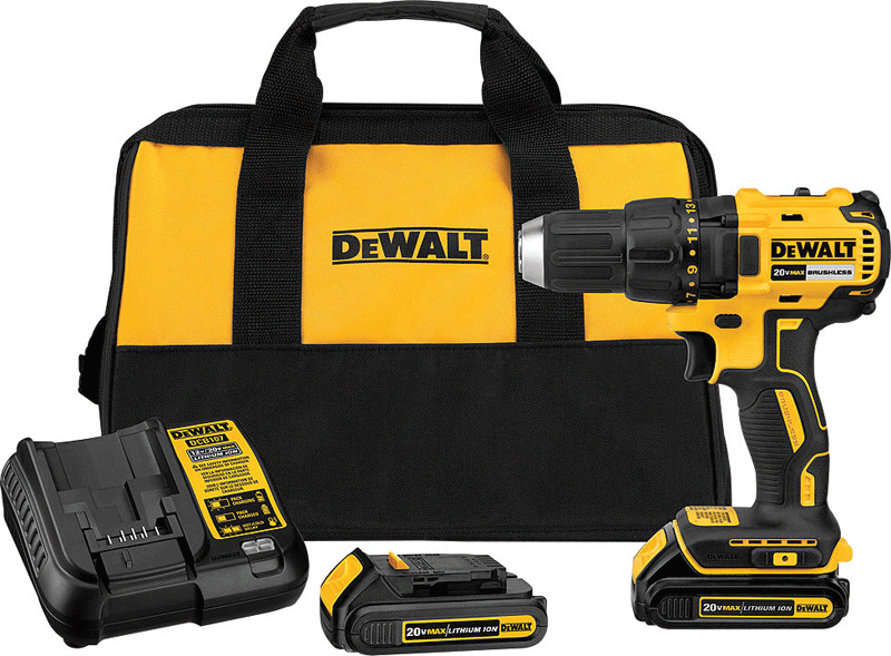 DeWalt 20V max compact brushless drill/driver