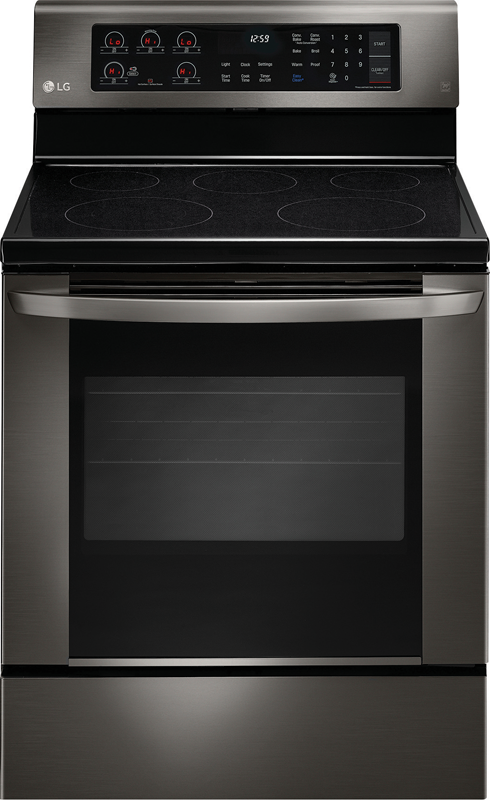 LG Electric range with powerful fifth dual element