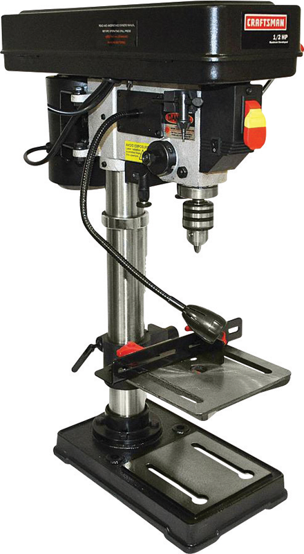 Craftsman 10-in. bench drill press with laser