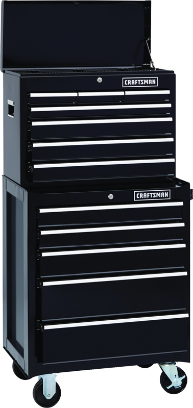Craftsman 12-drawer heavy duty tool storage combo