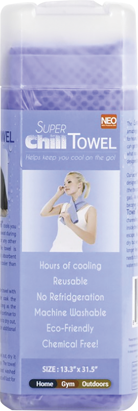 Super Chill Towel Blue or Pink