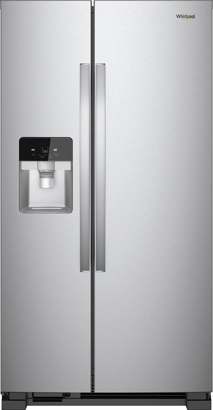 Whirlpool 24.5-cu. ft. side by side refrigerator