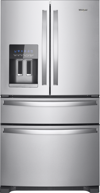 Whirlpool 24.5-cu. ft bottom freezer refrigerator