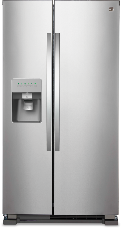 Kenmore 24.5 cu. ft. side-by-side refrigerator