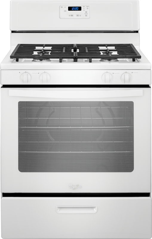 5.1-cu. ft. gas range with broiler drawer