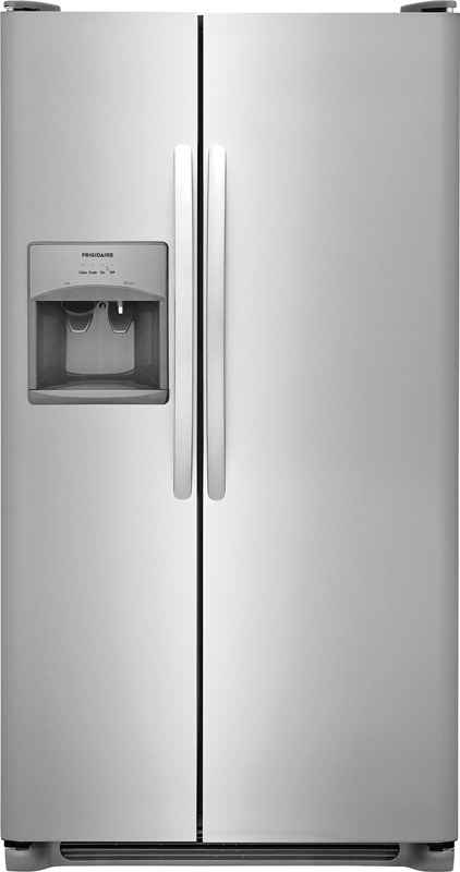 25.5-cu. ft. side-by-side refrigerator