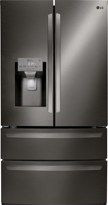 27.8-cu. ft. with LG Smart ThinQ and double freezer drawers