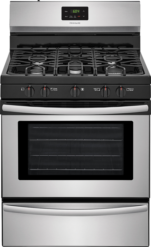 4.2 cu. ft. with 5 Th oval burner and 6,000 BTU quick boil burner