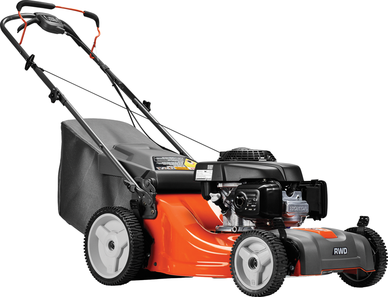 160cc Honda GCV engine Rear wheel propelled Discharge, mulch and bag grass High rear wheels