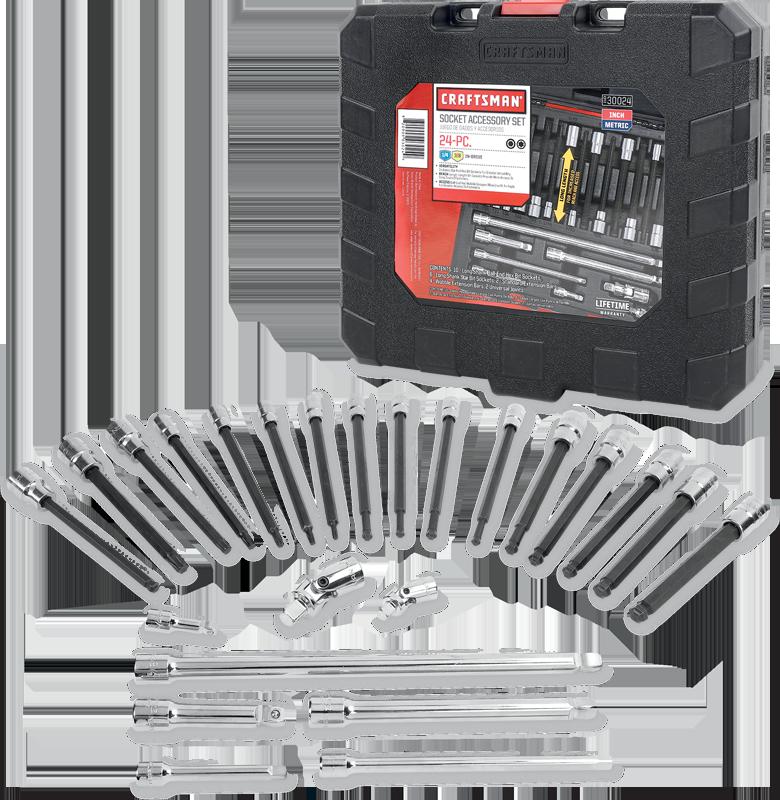 42-pc. bit socket wrench set