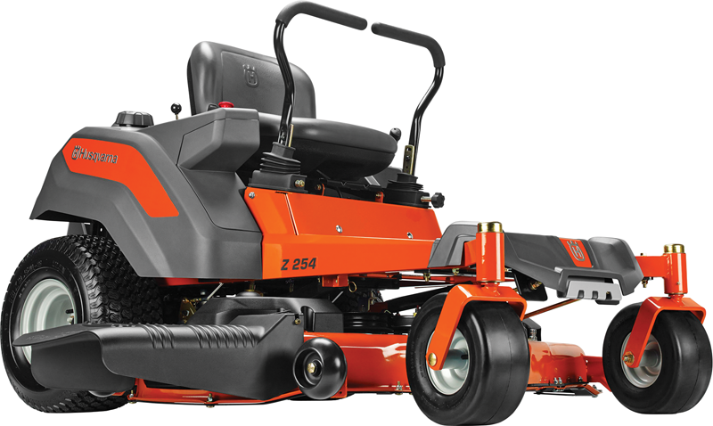 26-hp Kohler V-Twin engine 54-in. deck Dual hydrogear EZT transmission Zero turn riding mower High back seat