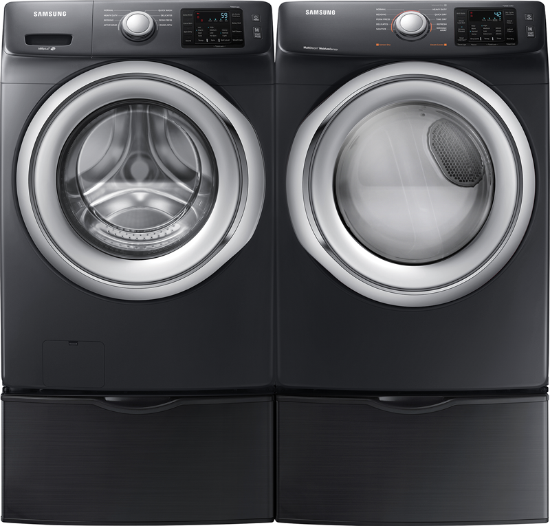 4.5 cu. ft. capacity with VRT Plus technology and 7.5 cu. ft. capacity electric with Steam and Sensor Dry