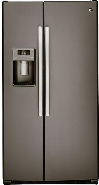 GE 25.4-cu. ft. side-by-side refrigerator