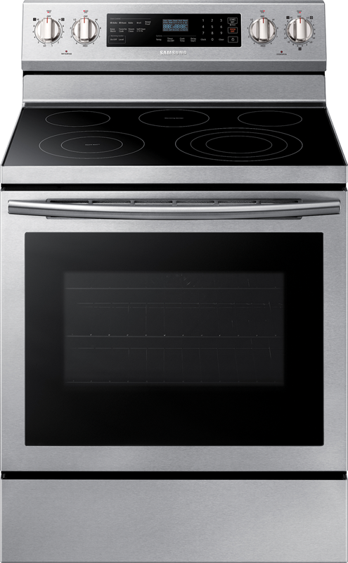 5.9 cu. ft. capacity electric with flexible triple power burner