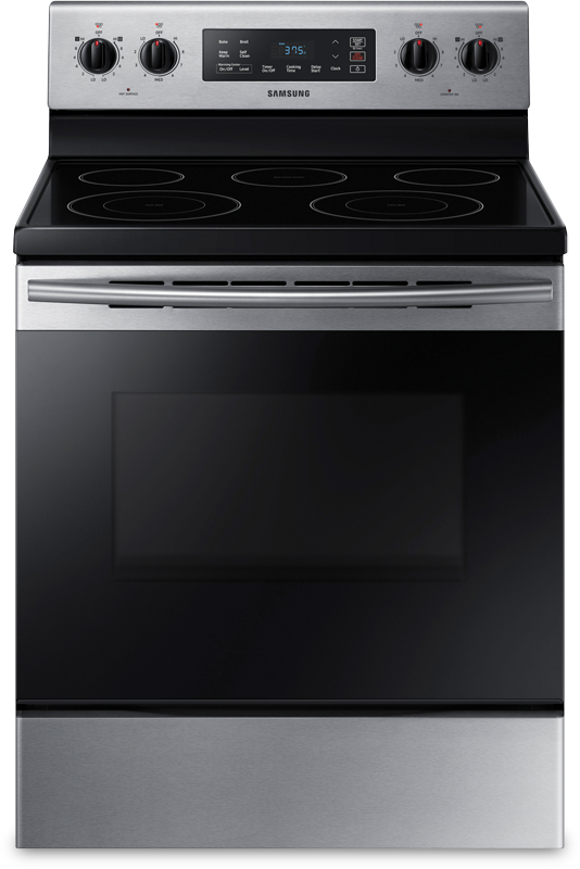 5.9 cu. ft. capacity electric with Two Dual Power Elements and Warming Center