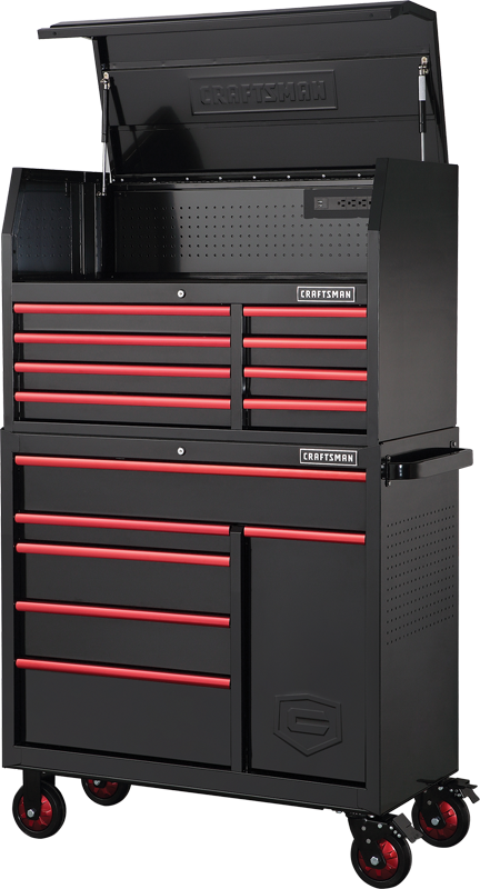 41-in. 14-drawer tool storage combo