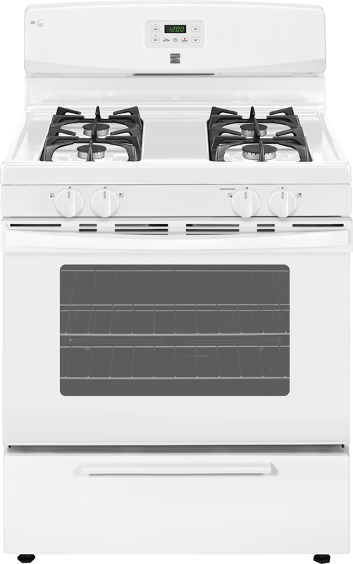 4.2 cu. ft. capacity gas with Broil & Serve™ drawer and Easy Set™ controls